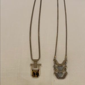 Set of 2 J. Crew necklaces